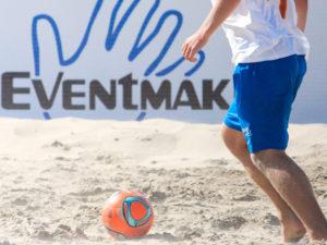 Beach soccer toernooi