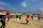 Beach volleybal toernooi