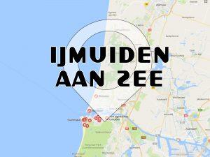 Route IJmuiden aan Zee
