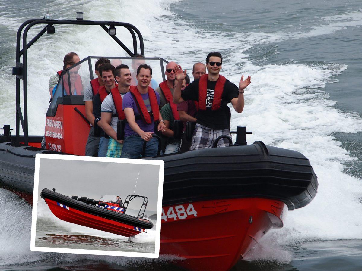 Speedboot varen