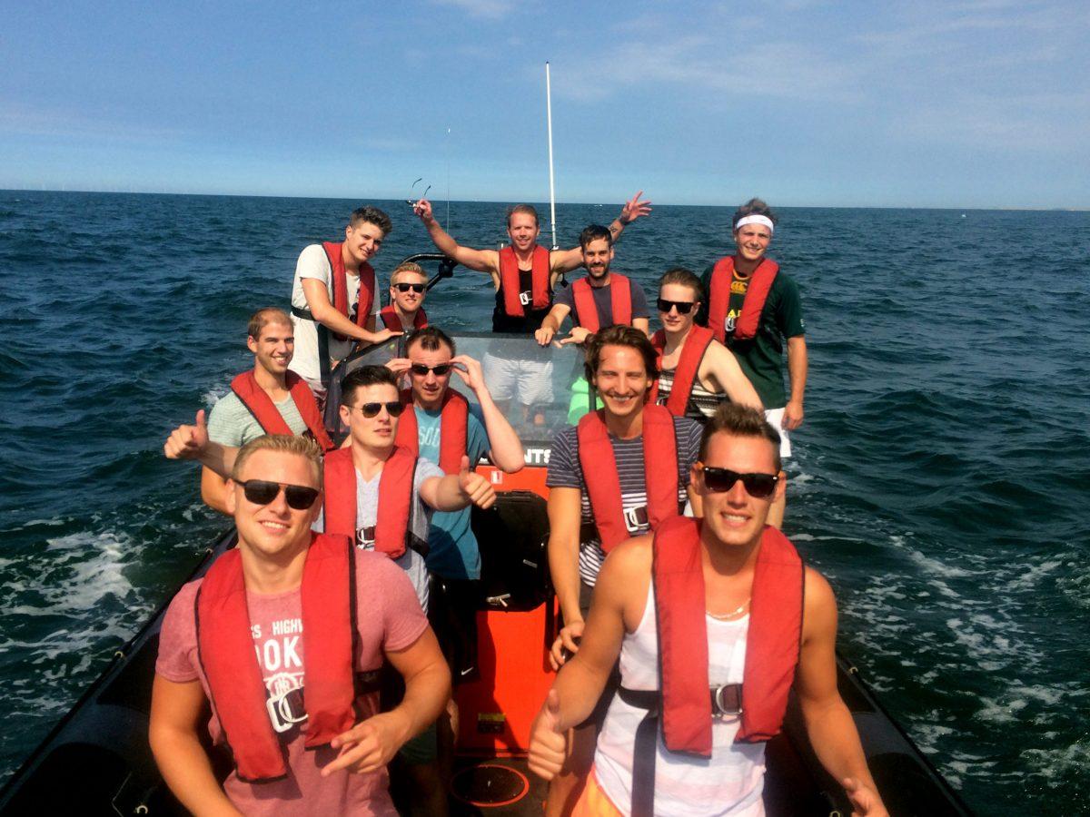 Vrijgezellenfeest speedboot varen