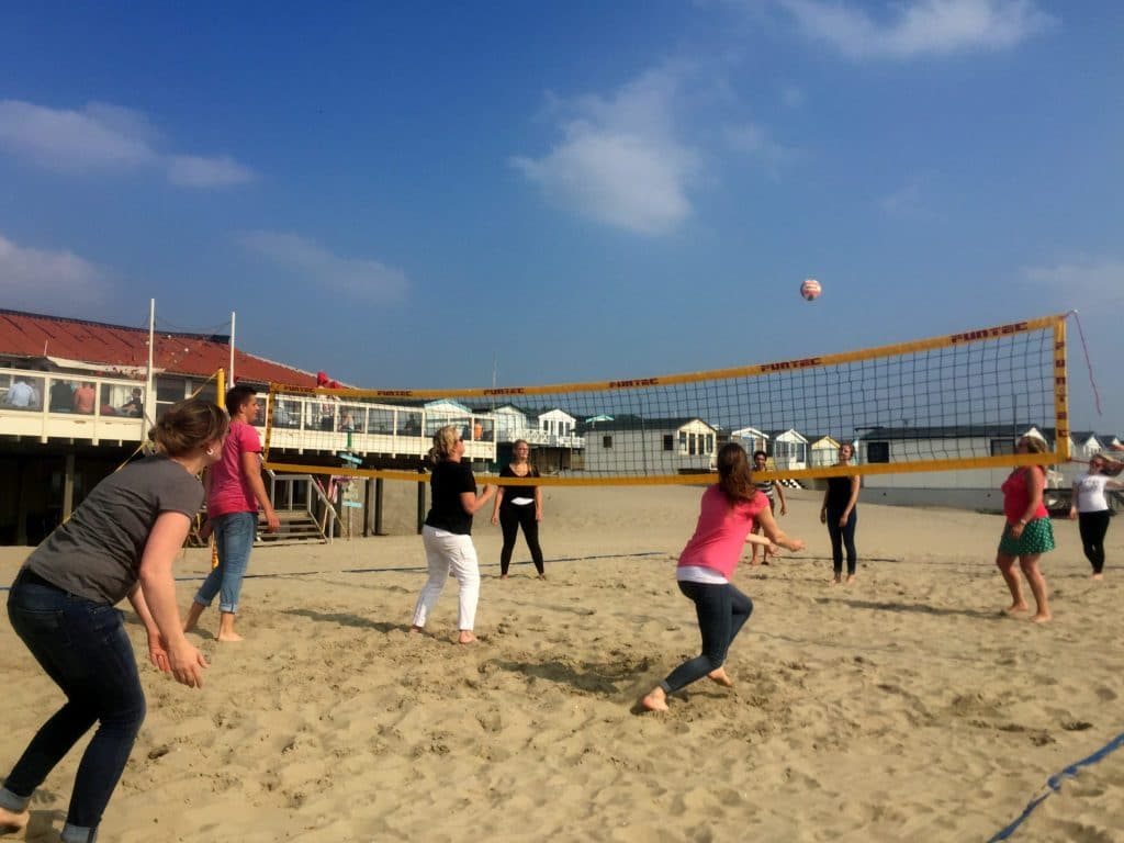 Beach Volleybal Strand IJmuiden