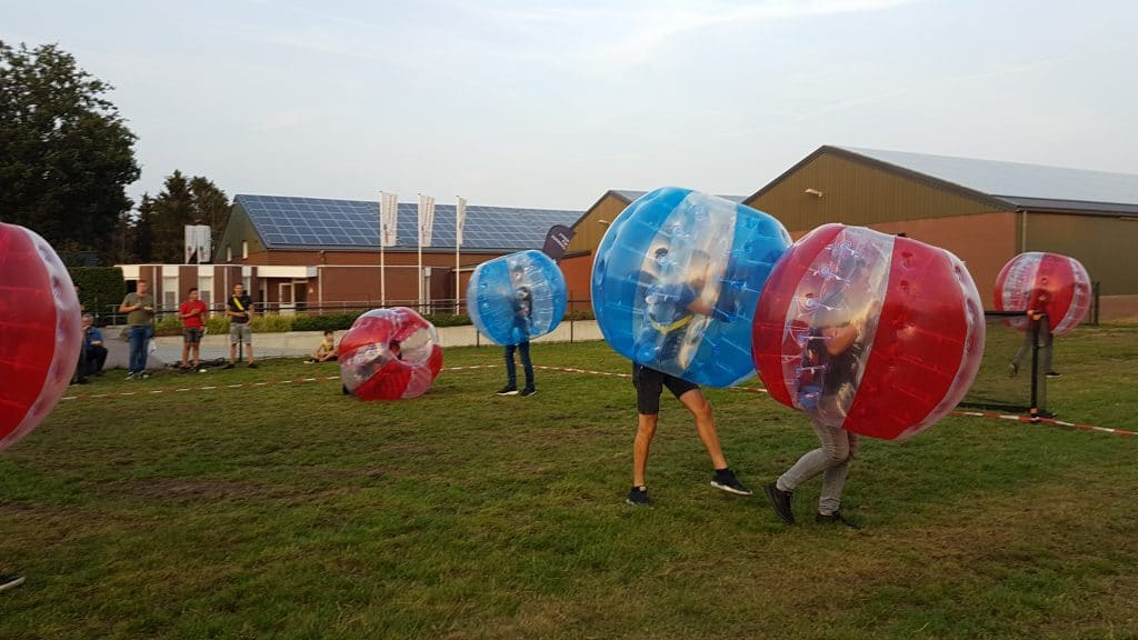 Bubble voetbal Eventmaker