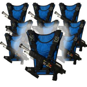 Lasergame Guns huren
