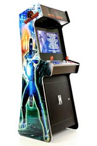 Arcade verhuur Mortal Combat blauw