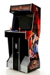 Arcade verhuur Mortal Combat rood