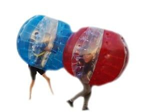 Bubble voetbal ballen verhuur Eventmaker