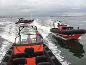 Rib varen op de Noordzee Eventmaker