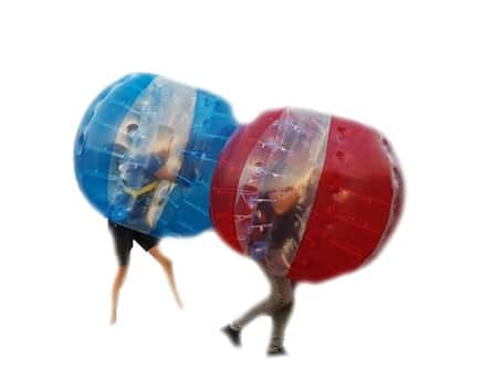 Bubble voetbal verhuur
